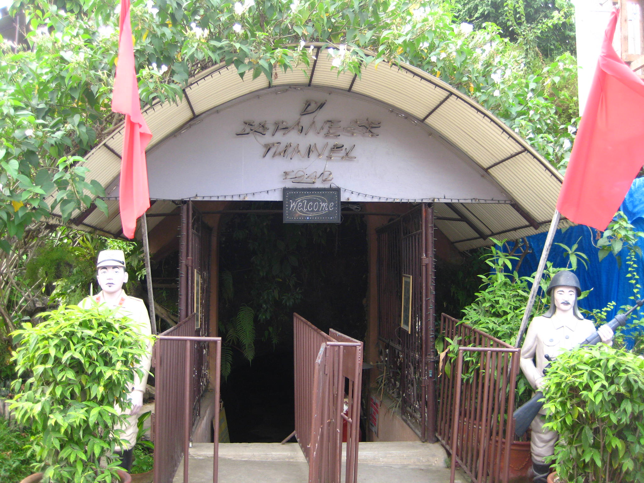 Real Japanese Tunnel in the Philippines
